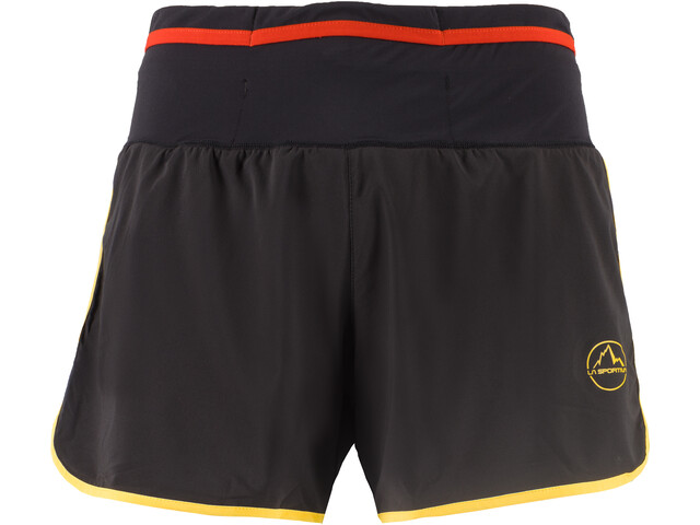 La Sportiva Tempo Short Homme, black/yellow